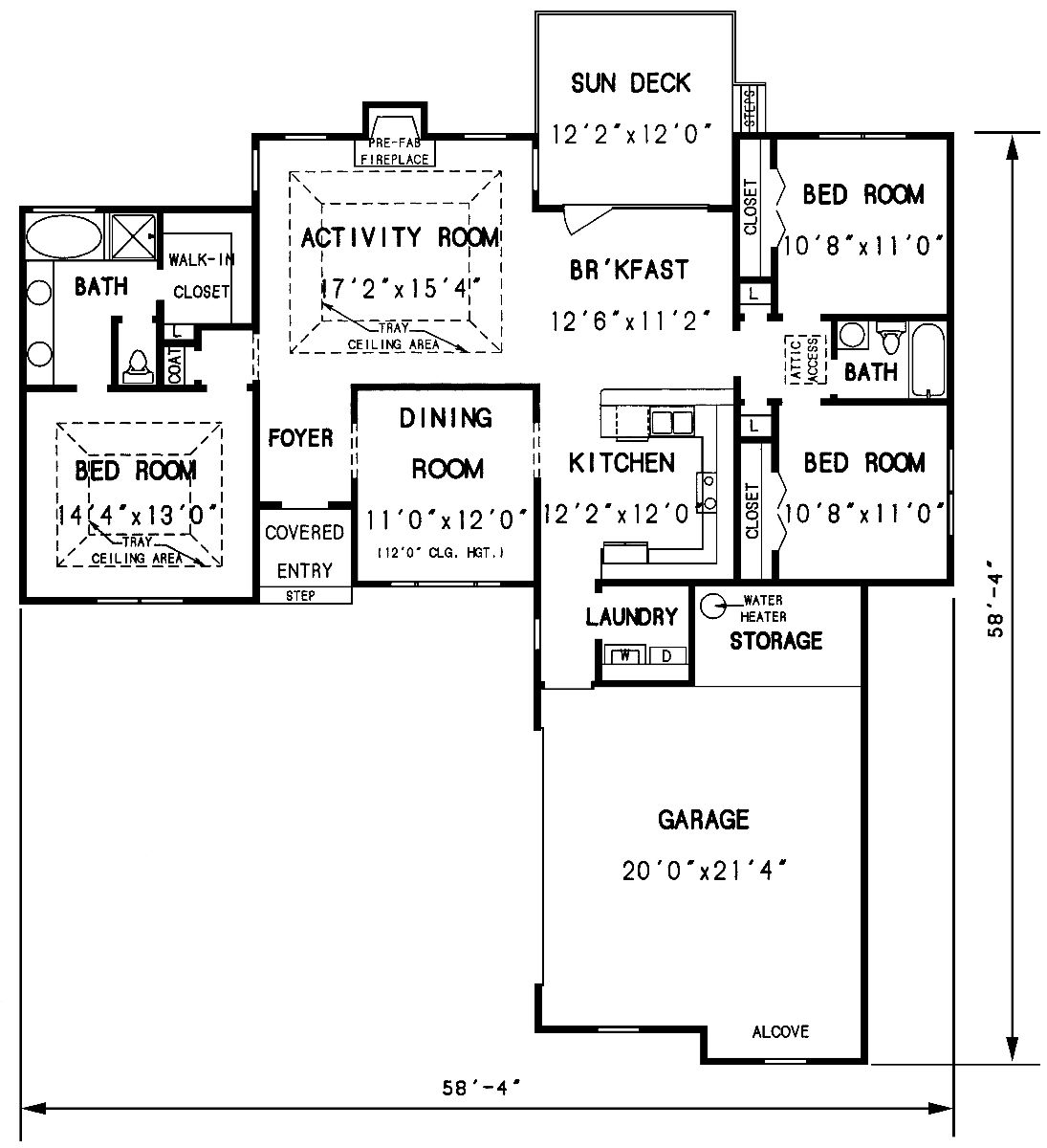 The valdosta 3297 3 bedrooms and 2 5 baths the house for First floor house plan