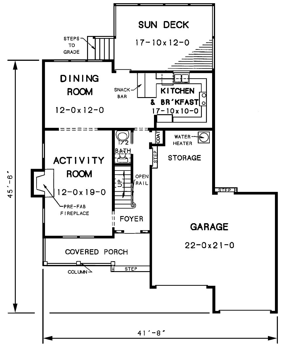 The walton 3428 and 2 baths the house designers for Walton house floor plan