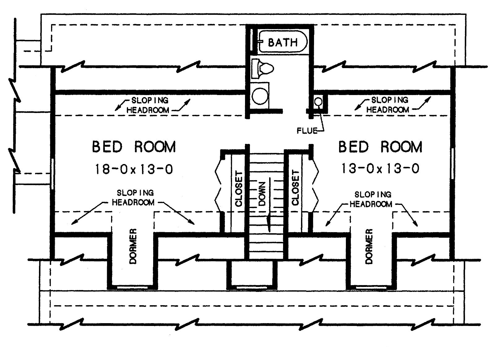 2nd floor plan - Second Floor Floor Plans