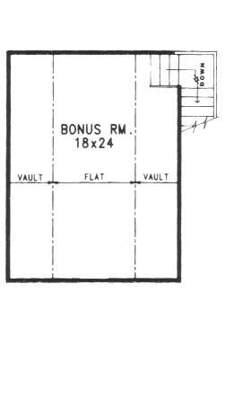 Second Floor Bonus Room