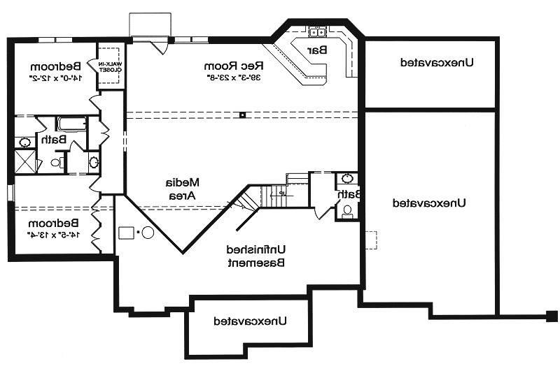 Walk out Basement Plan