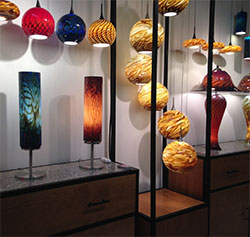 Earth & Fire LLC. Glass Lighting