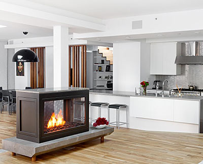 Customizable Fireplaces You Can Install Anywhere