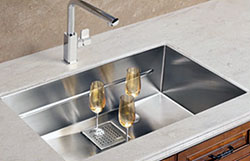 model peak series sink pkx11021 msrp 995 and pull out chrome faucet ffp 1100 msrp 720 - Kitchen Sink Models