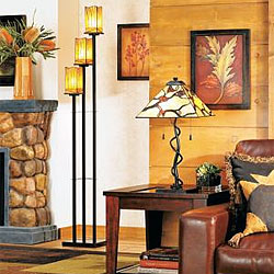 Editor39s top home furnishings products for Sedona collection tiffany style floor lamp 22081