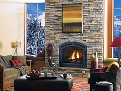 Incredible Stone Fireplaces