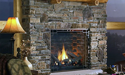 Incredible stone fireplaces - Incredible central fireplace ideas ...