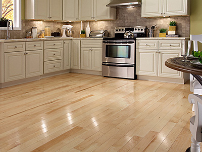 2. A Durable and Moisture-Resistant Hardwood Floor