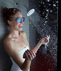 4-Kohler® Moxie® Showerhead and Wireless Speaker