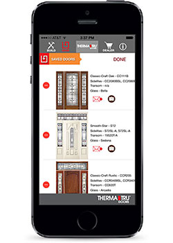 Therma-Tru® DoorWays App