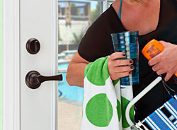 Brinks Home Security® Push-Pull-Rotate Door Locks™