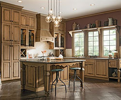 2-KraftMaid® Kitchen Cabinetry