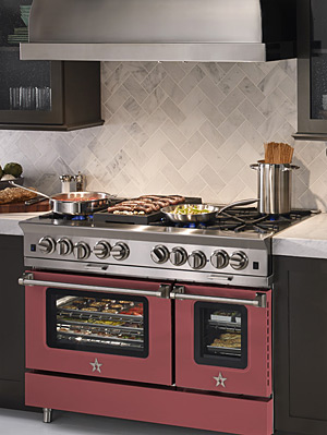 BlueStar Releases a Gas Range in Pantone's 2015 Color of the Year
