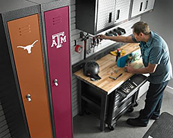 New PrimeTime™ Lockers from Gladiator® GarageWorks