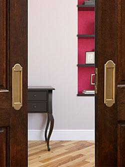 Pocket Door Locks and a Lock Designer App