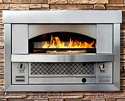 A Beautifully Designed Outdoor Pizza Oven