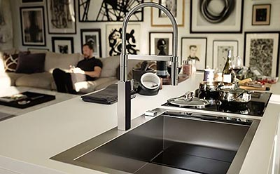 Sleek and Seamless Sink Systems