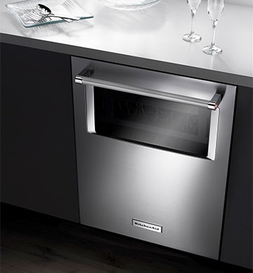 5. A Supremely Quiet Window Dishwasher
