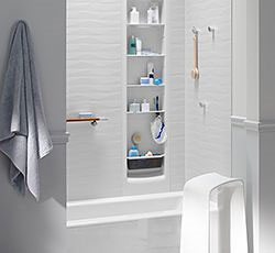 12. Shower Organization Made Easy
