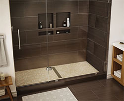 5. A Ready-to-Install, Stylish Shower Pan