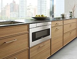6. A Microwave Drawer That Offers Kitchen Design Freedom